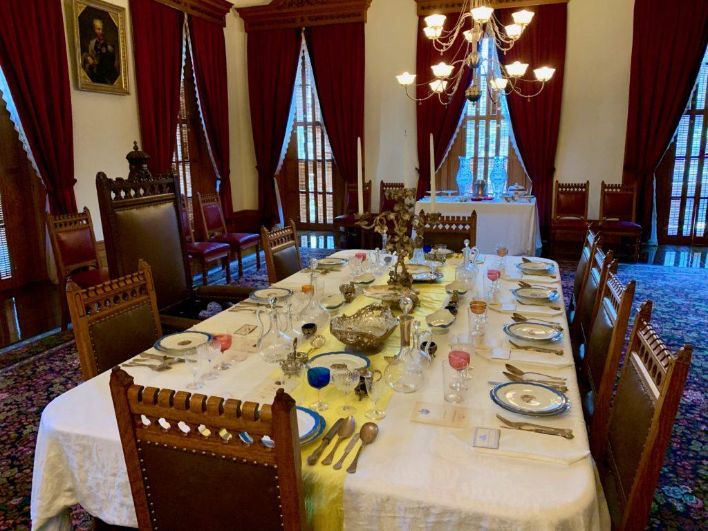 イオラニパラスの正餐室