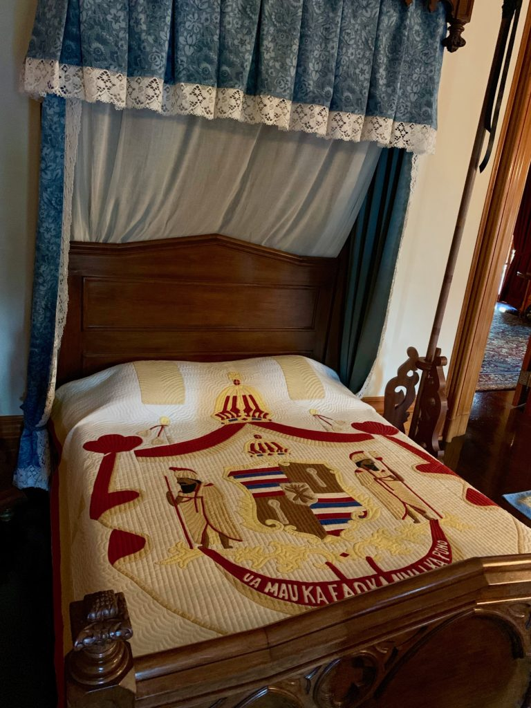 イオラニパラスの王の寝室