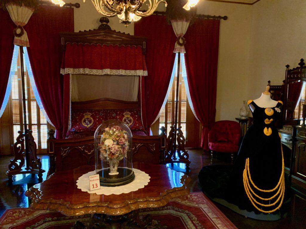 イオラニパラスの女王の寝室