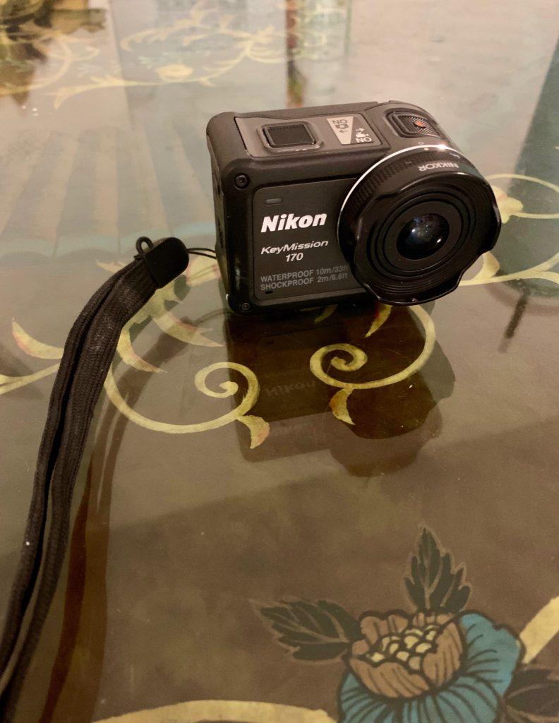 本日撮影に使用したカメラ Nikon KeyMission170