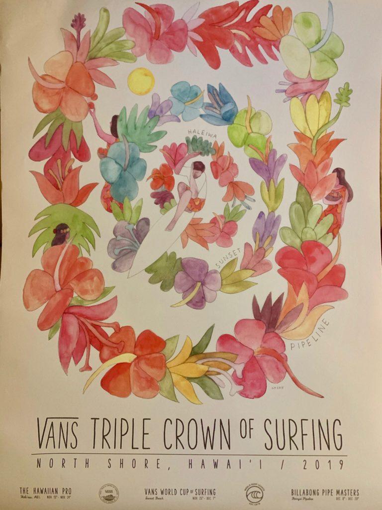 VANS トリプルクラウン2019のポスター