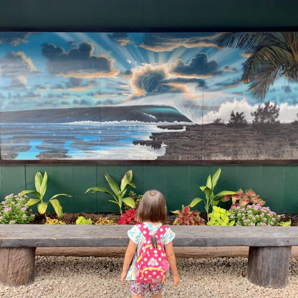 写実的なチューブの波のウォールアート