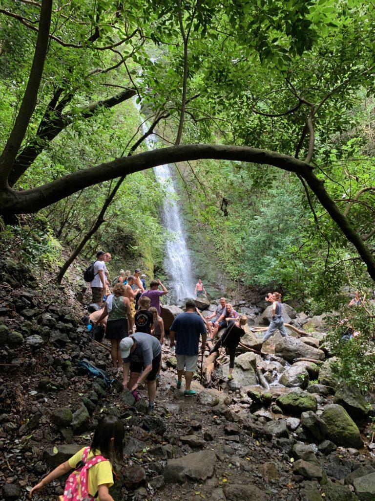 ルルマフ滝に到着