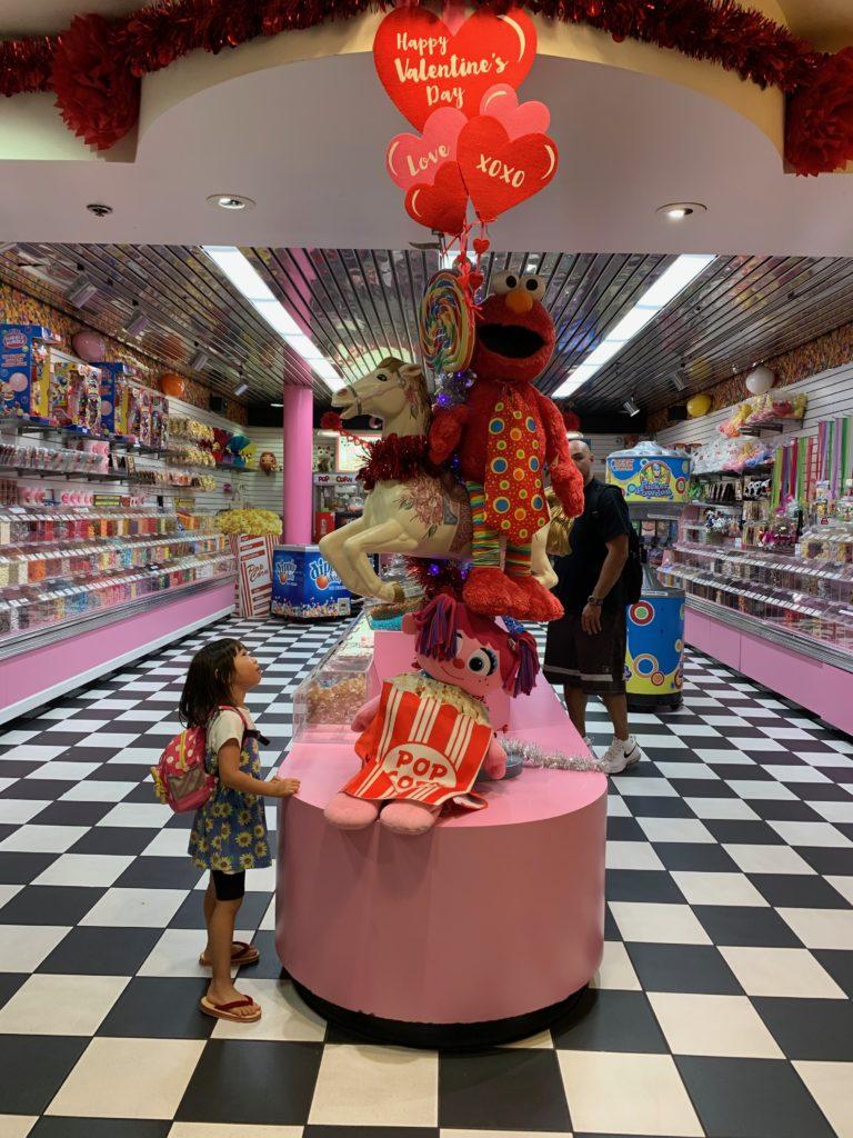 お菓子の量り売りのお店