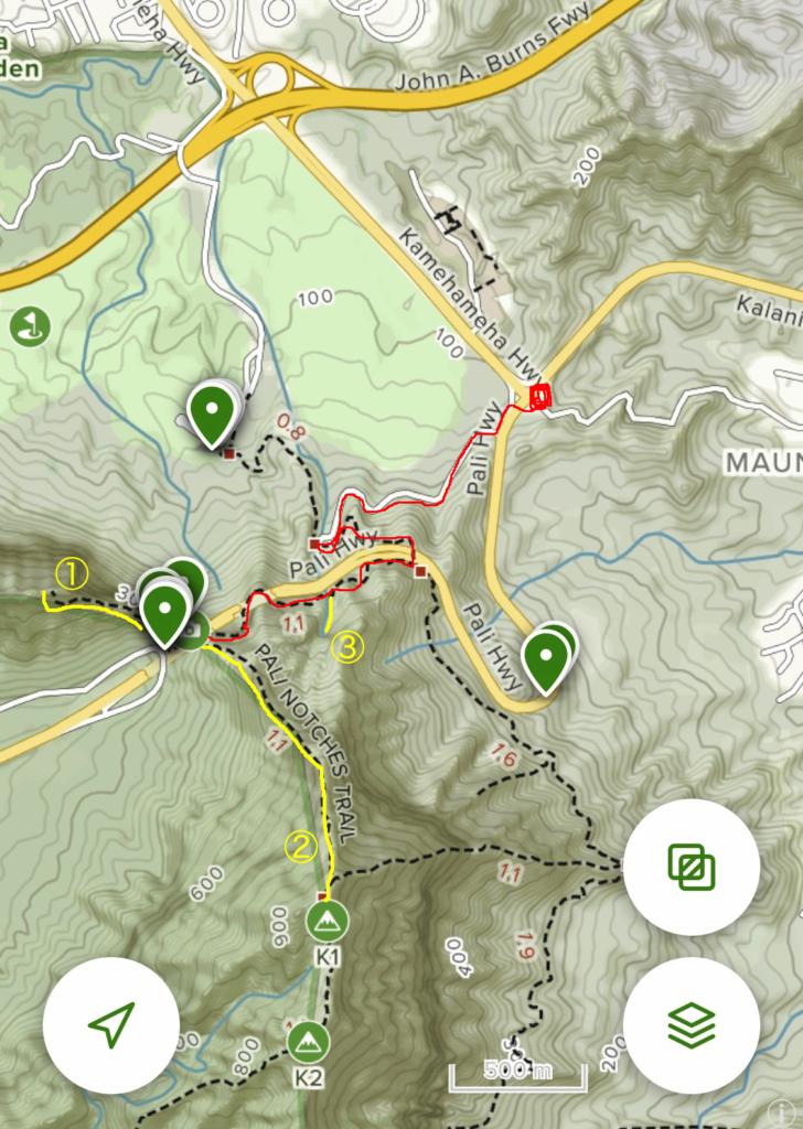 All trailsの画面ショット